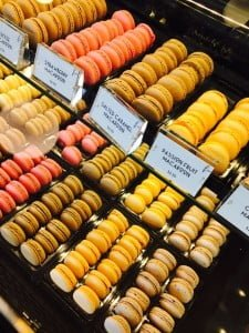 Colored French Macaroons from the French Workshop