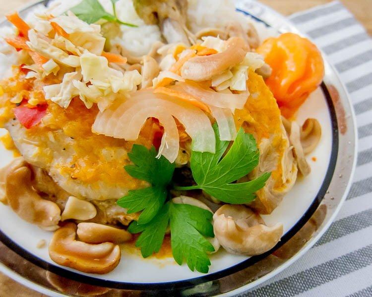 Haitian Cashew Chicken-15