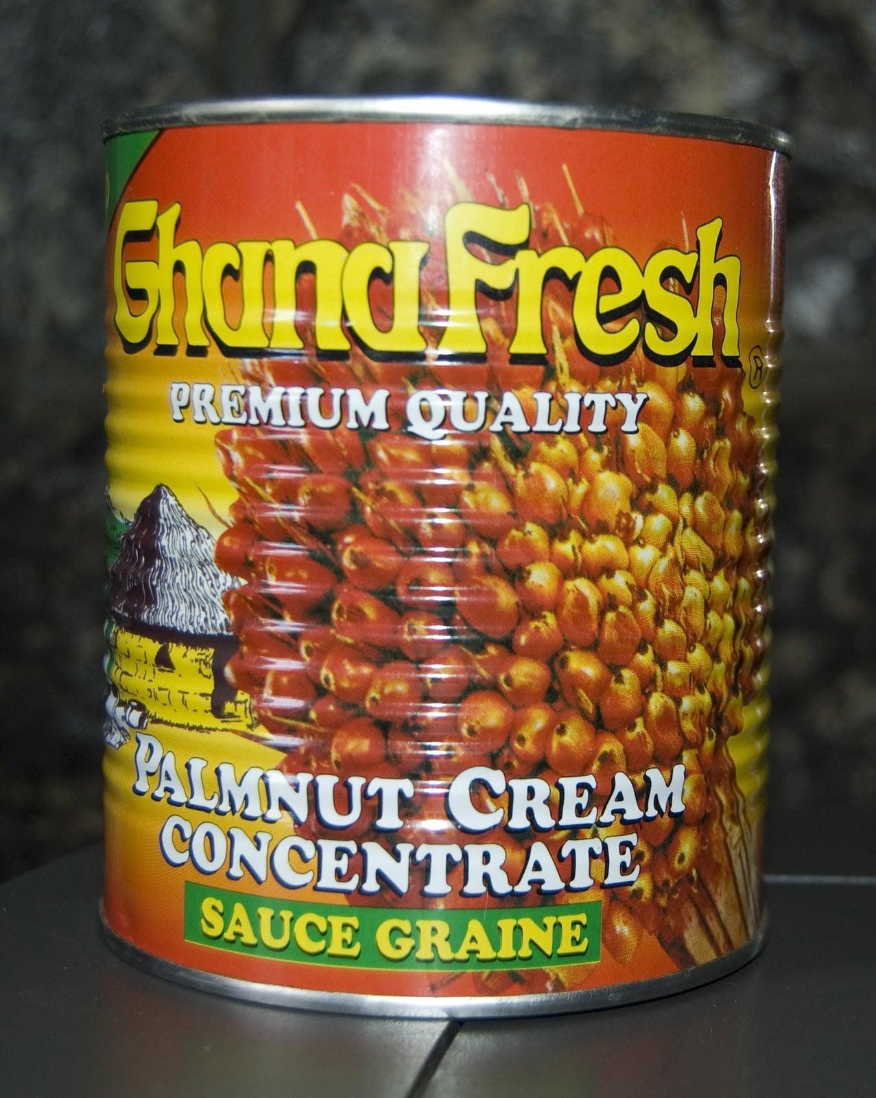 Ghana Fresh Palmnut Creme sauce for moambe