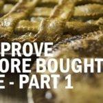 Improve store bought pie